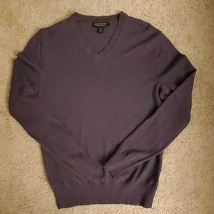 Banana Republic Merino Wool V Neck Sweater Small